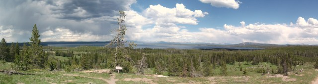 West Thumb Lake Overlook Trail (3)
