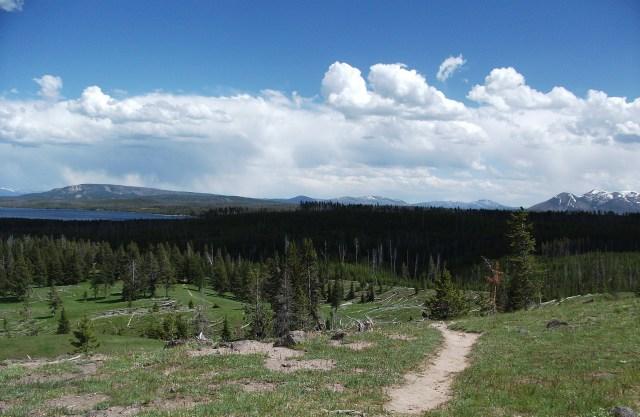 West Thumb Lake Overlook Trail (5)