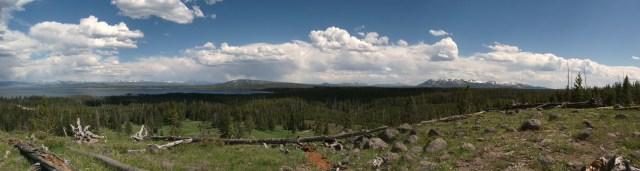 West Thumb Lake Overlook Trail (7)