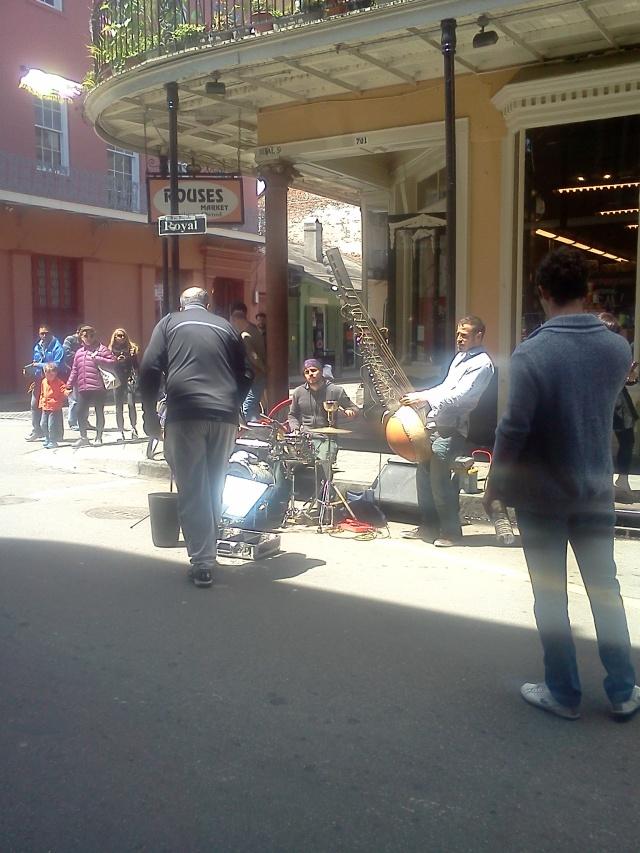 Royal Street entertainment