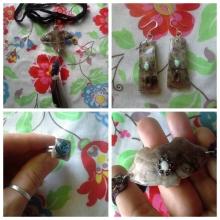 Turtle shell jewelry