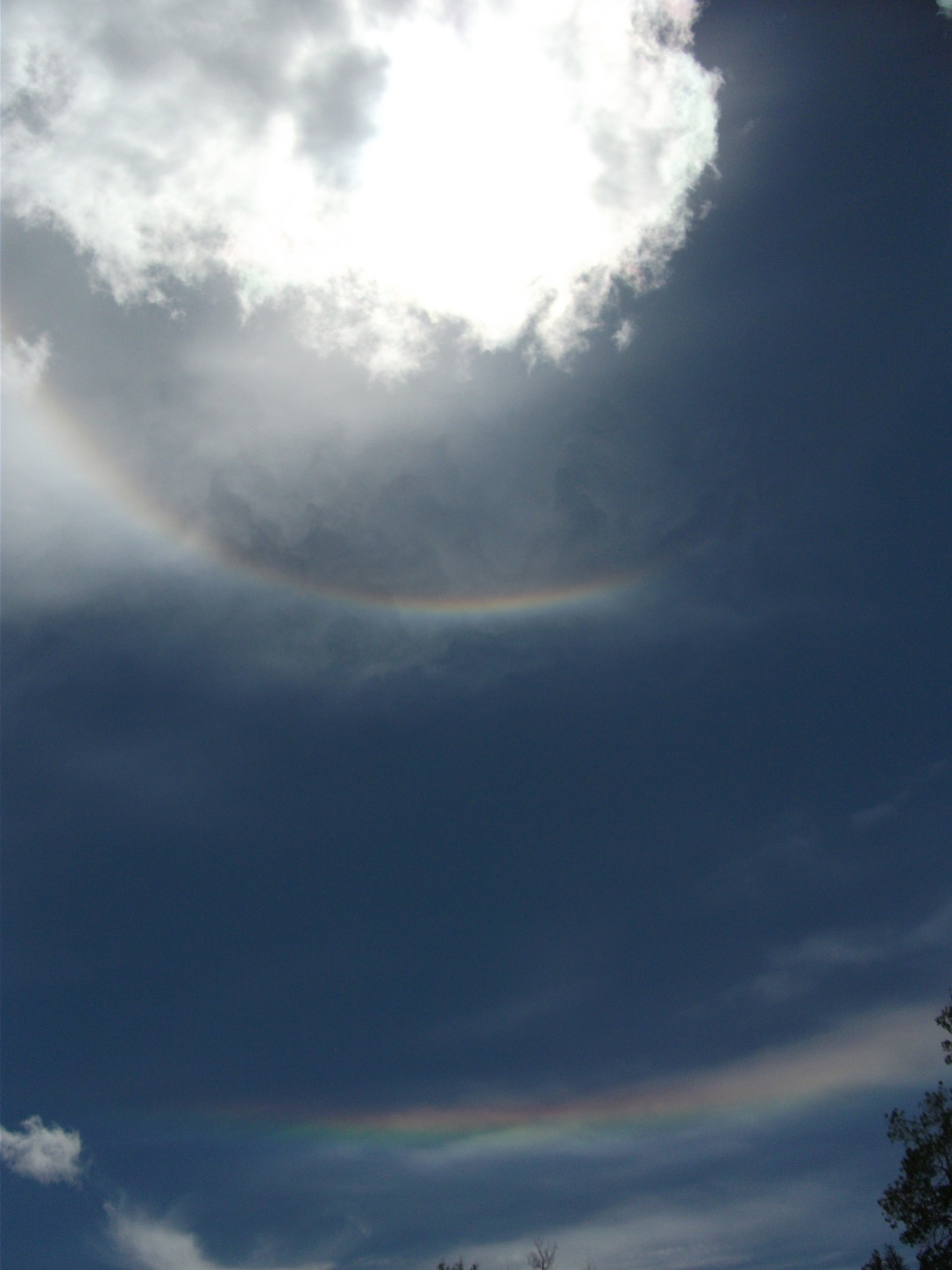 Double sun dog at Blacktail