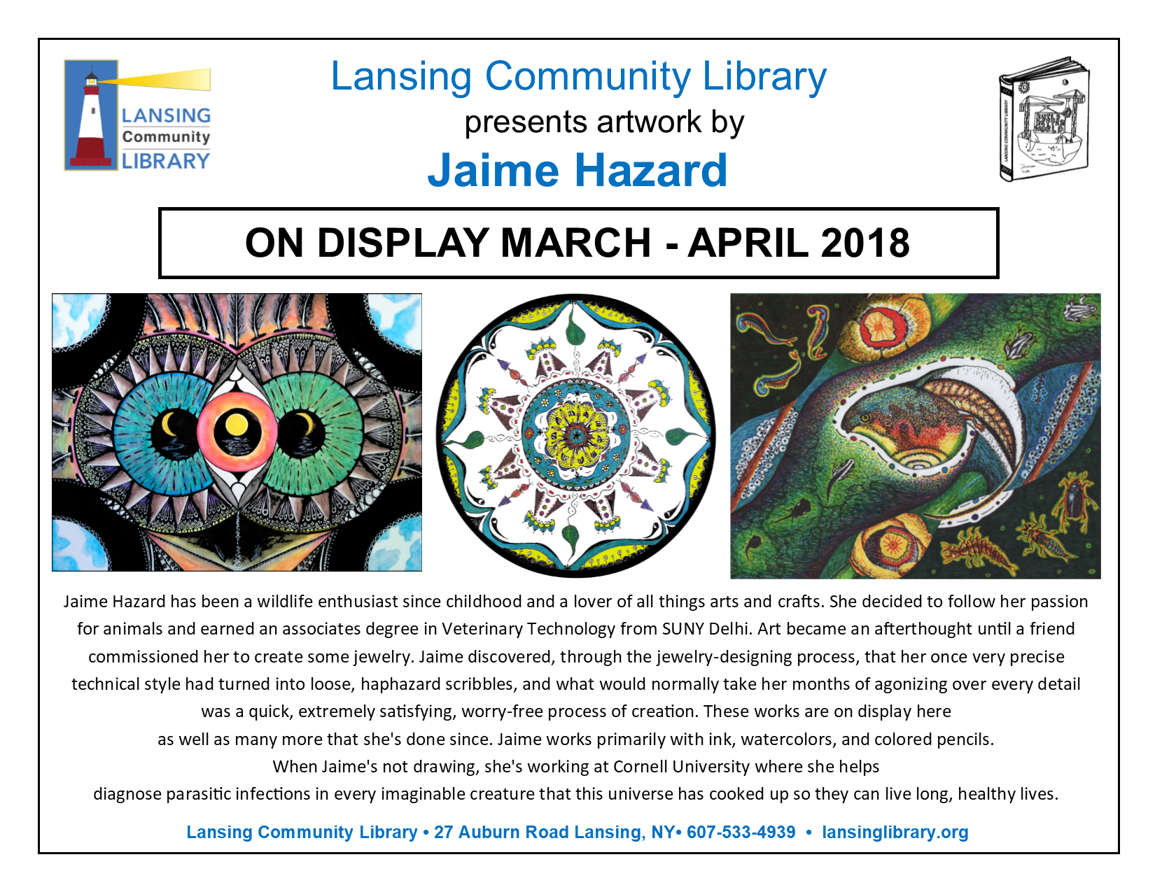 Jaime Hazard art show